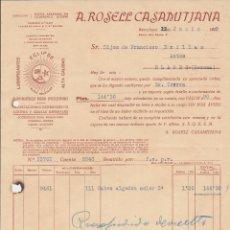 Coches y Motocicletas: LUBRIFICANTES ECIPSE IMPORTADORES GENERALES DE ACEITES Y GRASA MINERALES A.ROSELL CASAMITJANA. Lote 40030306