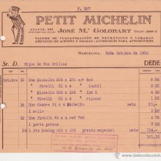Coches y Motocicletas: PETIT MICHELIN ,JOSE Mª GOLOBART TALLER DE VULCANIZACION DE NEUMATICOS Y CAMARAS. Lote 40031375