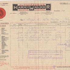 Coches y Motocicletas: AUTOCESORIOS HARRY WALKER BARCELONA 1929. Lote 40033171