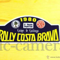 Autos und Motorräder - RARA PEGATINA DEL RALLY COSTA BRAVA 1980 - RALLYE RALLIES - 40045340