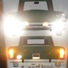 Coches y Motocicletas: BONITO PANEL CARTEL DIDACTICO DE AUTOESCUELA AUTO ESCUELA SEÑALIZACION DE LAS LUCES DE LOS COCHES. Lote 40208638