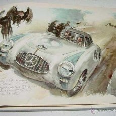 Coches y Motocicletas: MERCEDES-BENZ BY HANS LISKA - THIS BOOKS WAS PUBLISHED BY THE CAR MANUFACTURE MERCEDES-BENZ IN 1953 . Lote 38245491