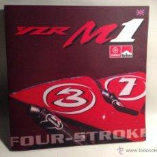 Coches y Motocicletas: YAMAHA YZR M1 FOUR-STROKE - MOTO GP 2002 - CARLOS CHECA - MAX BIAGGI - TEXTO EN INGLÉS. Lote 40281093