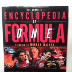 Coches y Motocicletas: THE COMPLETE ENCYCLOPEDIA OF FORMULA ONE - MURRAY WALKER Y BRUCE JONES - 1998 - TEXTO EN INGLÉS. Lote 40503648