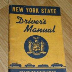 Coches y Motocicletas: NEW YORK STATE - DRIVER´S MANUAL - BONITO MANUAL DEL CONDUCTOR DE NUEVA YORK DE 1957 -. Lote 40624224