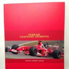Coches y Motocicletas: FERRARI GESTIONE SPORTIVA 2003 - SCUDERIA FERRARI MARLBORO - TEXTO EN ITALIANO E INGLÉS. Lote 40644359