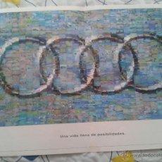 Coches y Motocicletas: PUBLICIDAD AUDI A6 AVANT. Lote 40672334