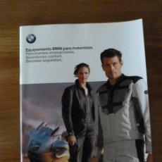 Coches y Motocicletas: CATALOGO EQUIPAMIENTO BMW PARA MOTORISTAS. Lote 40802636