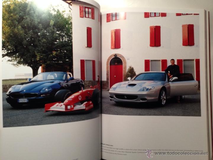 Coches y Motocicletas: FERRARI ANUARIO 2002 - MICHAEL SCHUMACHER CAMPEÓN DEL MUNDO - TEXTO EN ITALIANO E INGLÉS - Foto 4 - 40832824