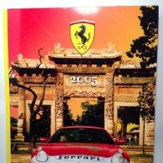 Coches y Motocicletas: FERRARI ANUARIO 2005 - TEXTO EN ITALIANO E INGLÉS. Lote 40833054