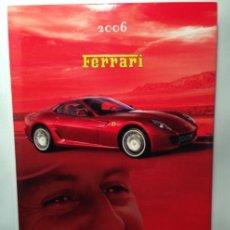 Coches y Motocicletas: FERRARI ANUARIO 2006 - ÚLTIMO AÑO DE MICHAEL SCHUMACHER EN FERRARI - TEXTO EN ITALIANO E INGLÉS. Lote 40845355