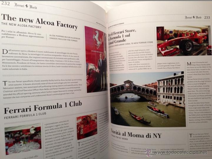 Coches y Motocicletas: FERRARI ANUARIO 2006 - ÚLTIMO AÑO DE MICHAEL SCHUMACHER EN FERRARI - TEXTO EN ITALIANO E INGLÉS - Foto 5 - 40845355