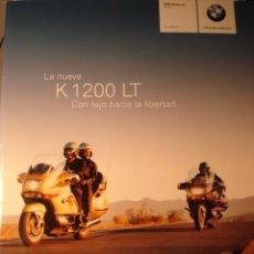 Coches y Motocicletas: CATALOGO BMW K 1200 LT. Lote 40863270
