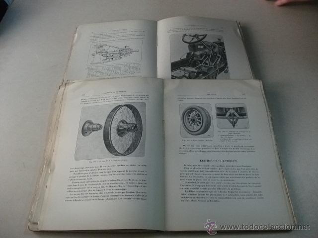 Coches y Motocicletas: L'ANATOMIE DE LA VOITURE AUTOMOBILE – TOMES I Y II – F. CARLÈS - Foto 3 - 40875693