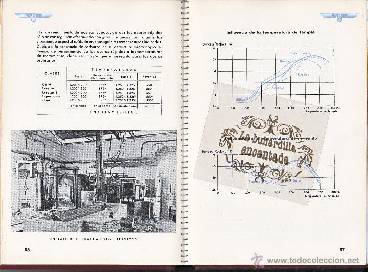 Coches y Motocicletas: MANUAL ACEROS ESPECIALES HEVA EDICIÓN AÑO 1946 - 133 PAGINAS - VER INTERIOR - Foto 3 - 40948147