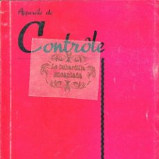 Coches y Motocicletas: CATALOGO DE APARATOS DE CONTROL CHAUVIN ARNOUX PARIS - INSTRUMENTOS MEDIDA ELECTRICOS - VER INTERIOR. Lote 40948338