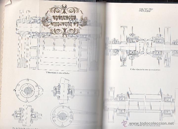 Coches y Motocicletas: LIBRO RODAMIENTOS DE BOLA SKF AÑO 1954 - MAGNIFICO LIBRO VER INTERIOR - Foto 4 - 40948444