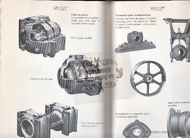 Coches y Motocicletas: LIBRO RODAMIENTOS DE BOLA SKF AÑO 1954 - MAGNIFICO LIBRO VER INTERIOR - Foto 5 - 40948444