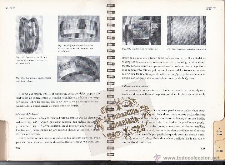 Coches y Motocicletas: LIBRO RODAMIENTOS DE BOLA SKF AÑO 1956 - MAGNIFICO LIBRO VER INTERIOR - Foto 2 - 40948545