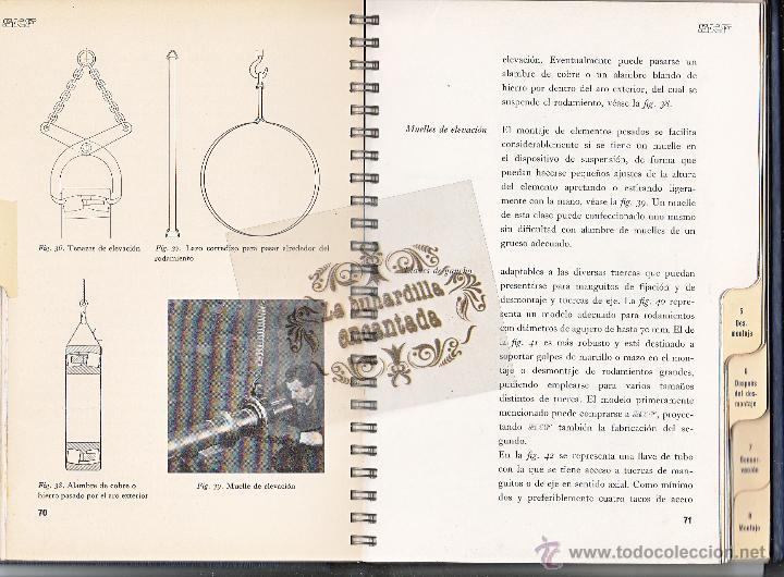 Coches y Motocicletas: LIBRO RODAMIENTOS DE BOLA SKF AÑO 1956 - MAGNIFICO LIBRO VER INTERIOR - Foto 3 - 40948545