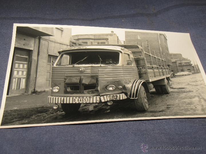 COCHES CAMIONES ANTIGUEDADES - FOTOGRAFIA ORIGINAL CAMION PEGASO (Coches y Motocicletas Antiguas y Clásicas - Catálogos, Publicidad y Libros de mecánica)