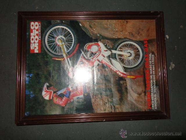 cuadro de madera con poster enmarcado de jordi - Comprar Catálogos ...