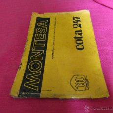 Coches y Motocicletas: MANUAL MECANICA MONTESA COTA 247. Lote 41301458