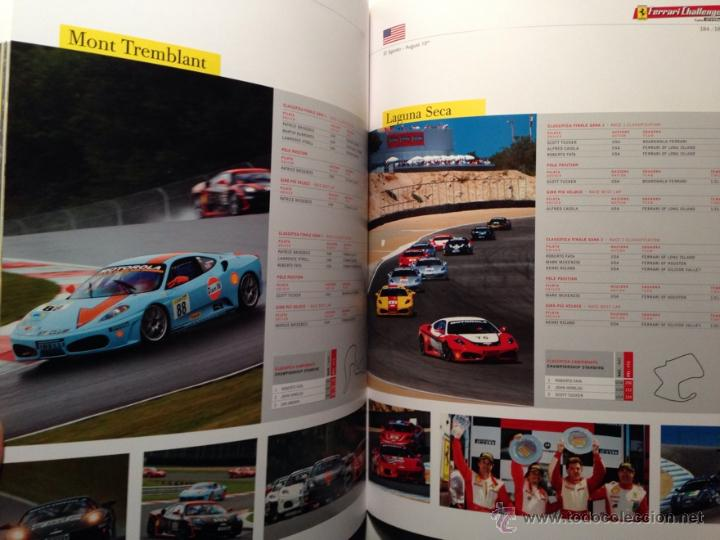 Coches y Motocicletas: FERRARI ANUARIO MEDIA ANNUAL RACING ACTIVITIES 2008 - TEXTO EN ITALIANO E INGLÉS - Foto 4 - 41454220