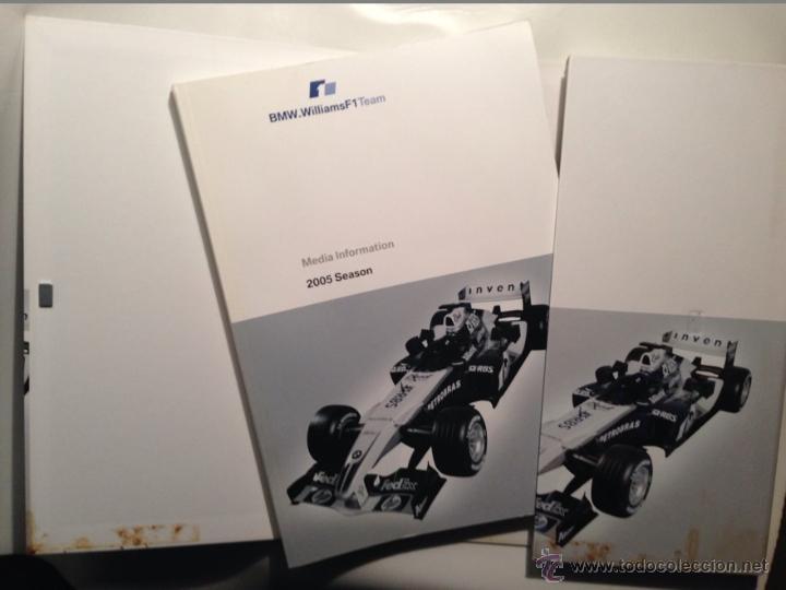 Coches y Motocicletas: DOSSIER DE PRENSA BMW WILLIAMS F-1 TEAM TEMPORADA 2005 - TEXTO EN INGLÉS - Foto 2 - 41500319