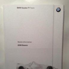 Coches y Motocicletas: DOSSIER DE PRENSA BMW SAUBER F-1 TEAM TEMPORADA 2006 - TEXTO EN INGLÉS. Lote 41500588