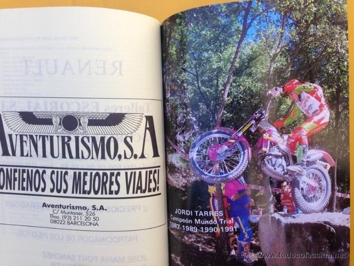 Coches y Motocicletas: ANUARIO CALENDARIO DEPORTIVO MOTOCICLISTA 1992 REAL FEDERACIÓN MOTOCICLISTA ESPAÑOLA - TEXTO ESPAÑOL - Foto 3 - 41552965