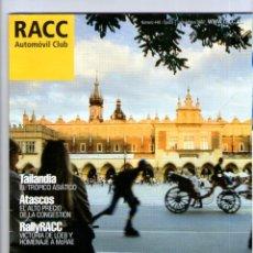 Coches y Motocicletas: RACC Nº 448 * NOVIEMBRE 2007 ** AUTOMOVIL CLUB REVISTA. Lote 41568197