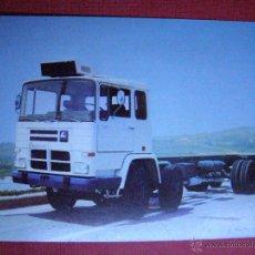 Coches y Motocicletas: ANTIGUA POSTAL - PEGASO 1086 / 52 260 C.V. - ENASA - AÑOS 70 - ESCRITA -. Lote 41749409