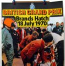 Coches y Motocicletas: CARTEL POSTER ORIGINAL BRITISH GRAND PRIX BRANDS HATCH 1970. Lote 42217394