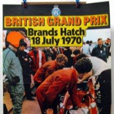 Coches y Motocicletas: CARTEL POSTER ORIGINAL BRITISH GRAND PRIX BRANDS HATCH 1970. Lote 42217394
