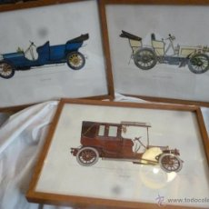 Coches y Motocicletas: LÁMINAS COCHES ANTIGUOS. Lote 42250322