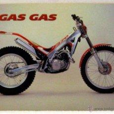 Coches y Motocicletas: GAS GAS TXT 249 / 270 TRIAL CATALOGO PUBLICIDAD ORIGINAL, TEXTO INGLÉS ALEMAN JAPONES. Lote 42271247