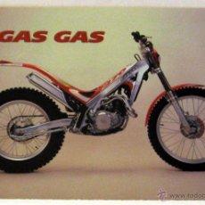 Coches y Motocicletas: GAS GAS TXT 249 / 270 TRIAL CATALOGO PUBLICIDAD ORIGINAL, TEXTO ESPAÑOL FRANCES E ITALIANO. Lote 42271293