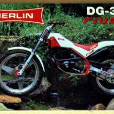 Coches y Motocicletas: MERLIN DG 3 FIUS CATALOGO PUBLICIDAD ORIGINAL, TEXTO ESPAÑOL E INGLÉS. Lote 42272047