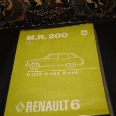 Coches y Motocicletas: MANUAL DE REPARACIÓN, RENAULT 6.- MECÁNICA. Lote 42302291