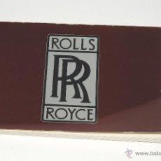 Coches y Motocicletas: CATALOGO ROLLS ROYCE IMPRESO EN FRANCES AÑO 1981. Lote 42327073