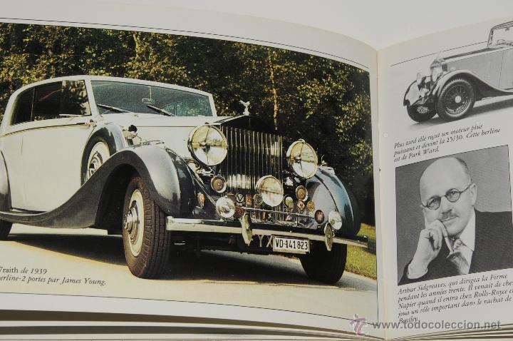 Coches y Motocicletas: CATALOGO ROLLS ROYCE IMPRESO EN FRANCES AÑO 1981 - Foto 2 - 42327073
