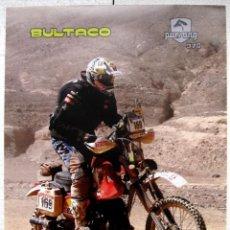 Coches y Motocicletas: CARTEL POSTER BULTACO PURSANG 370 PARIS DAKAR 2011. Lote 142047654