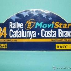 Autos und Motorräder - ADHESIVO - 34 RALLYE CATALUNYA COSTA BRAVA - RALLYE DE ESPAÑA 1998 - 42773318