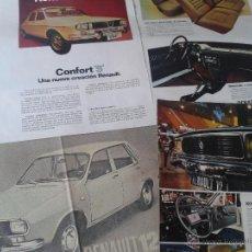 Coches y Motocicletas: ANTIGUA PUBLICIDAD DE PRENSA RENAULT 12. Lote 40030041