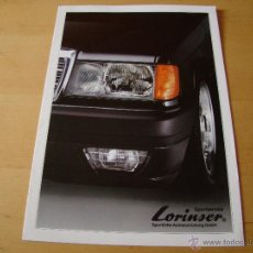 Coches y Motocicletas - brochure catalogo folleto MERCEDES-BENZ LORINSER - 42924814