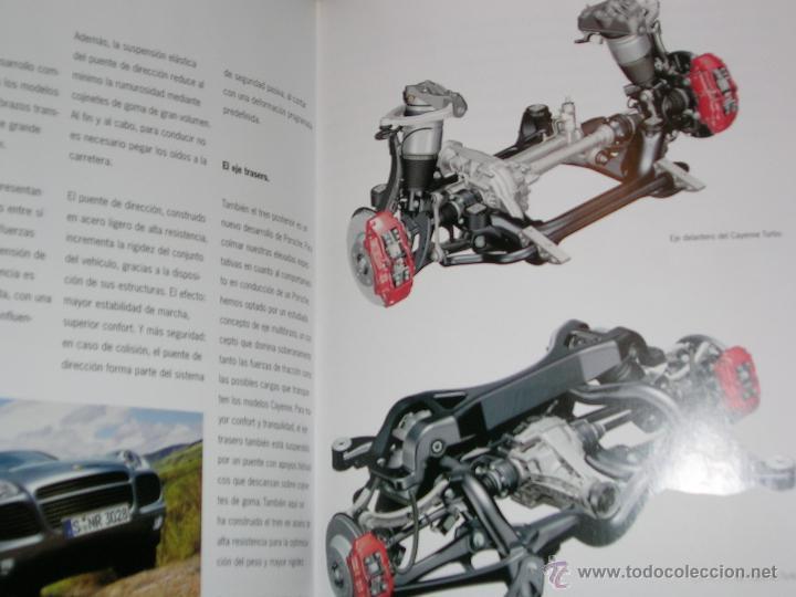 Coches y Motocicletas: CAYENNE.PORSCHE. LIBRO CATÁLOGO 185 Pgn-TAPAS DURA. A TODO COLOR .FOTOS. - Foto 3 - 43022048
