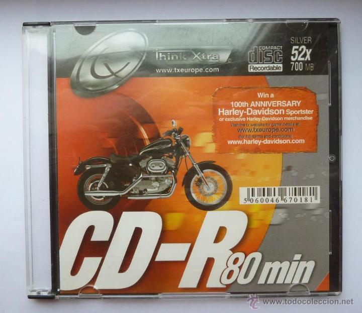 CD VIRGEN THINK XTRA 100 ANIVERSARIO HARLEY DAVIDSON DEL 2002 (Coches y Motocicletas Antiguas y Clásicas - Catálogos, Publicidad y Libros de mecánica)