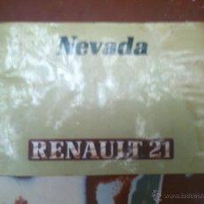Coches y Motocicletas: RENAULT 21 GTD NEVADA. Lote 43040450