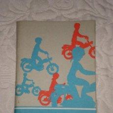 Coches y Motocicletas: GUIA DEL CONDUCTOR DE CICLOMOTORES--AÑOS 1980. Lote 43041857